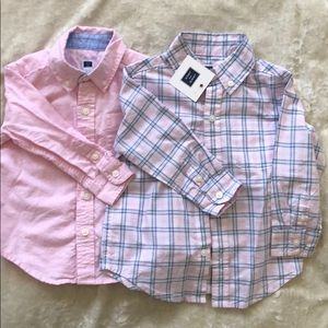 Janie and jack button downs